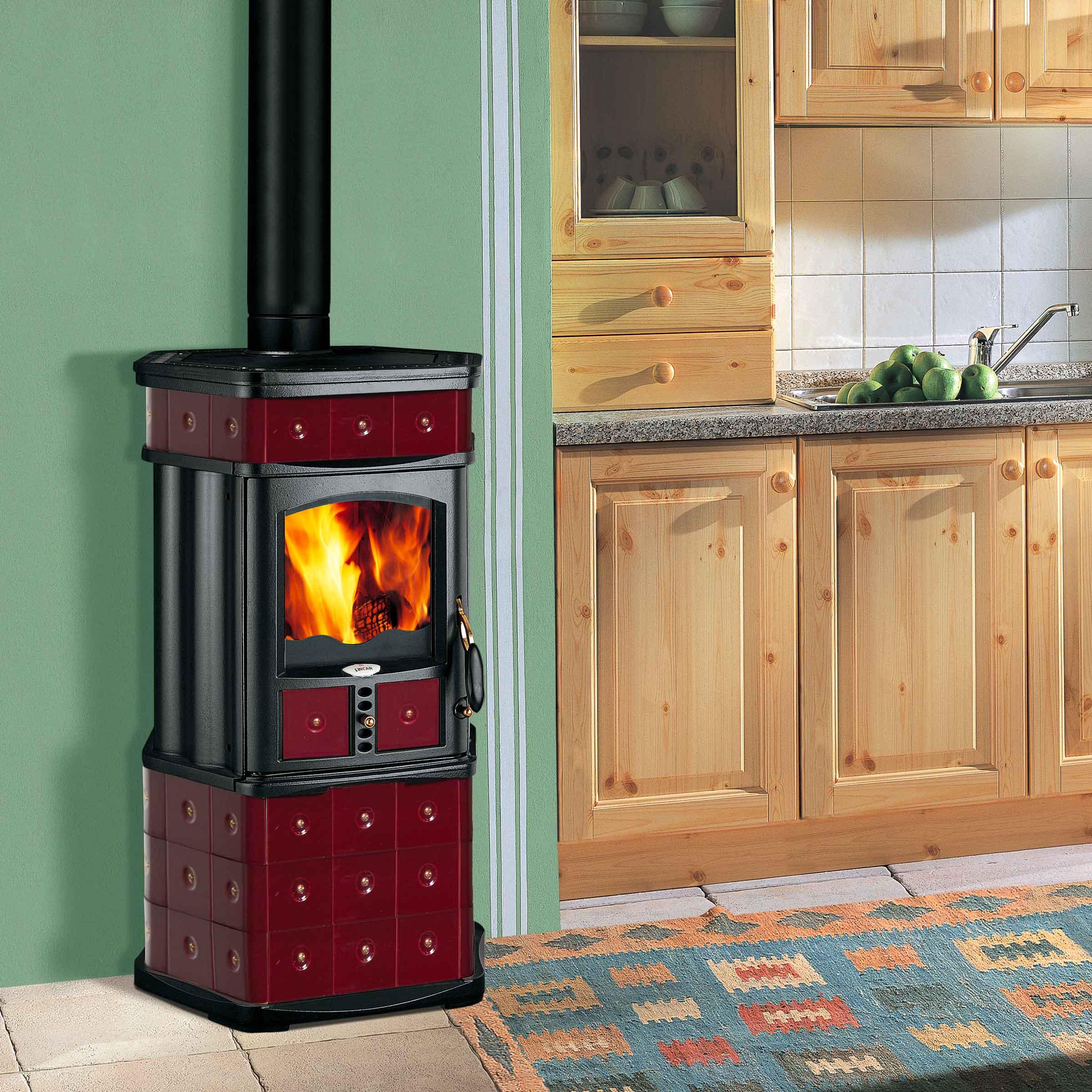 Stufe e termostufe a legna cb caminetti bellucci - Termostufe a pellet usate ...